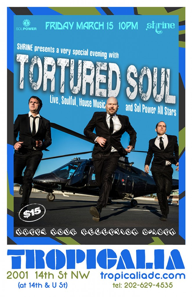 SHRINE at Tropicalia: Tortured Soul & The Sol Power All-Stars
