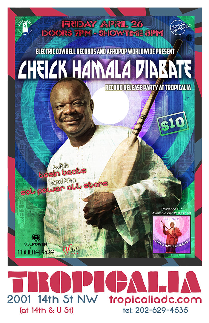 Cheick Hamala Diabate 'Prudence EP' release feat. The Sol Power All-Stars