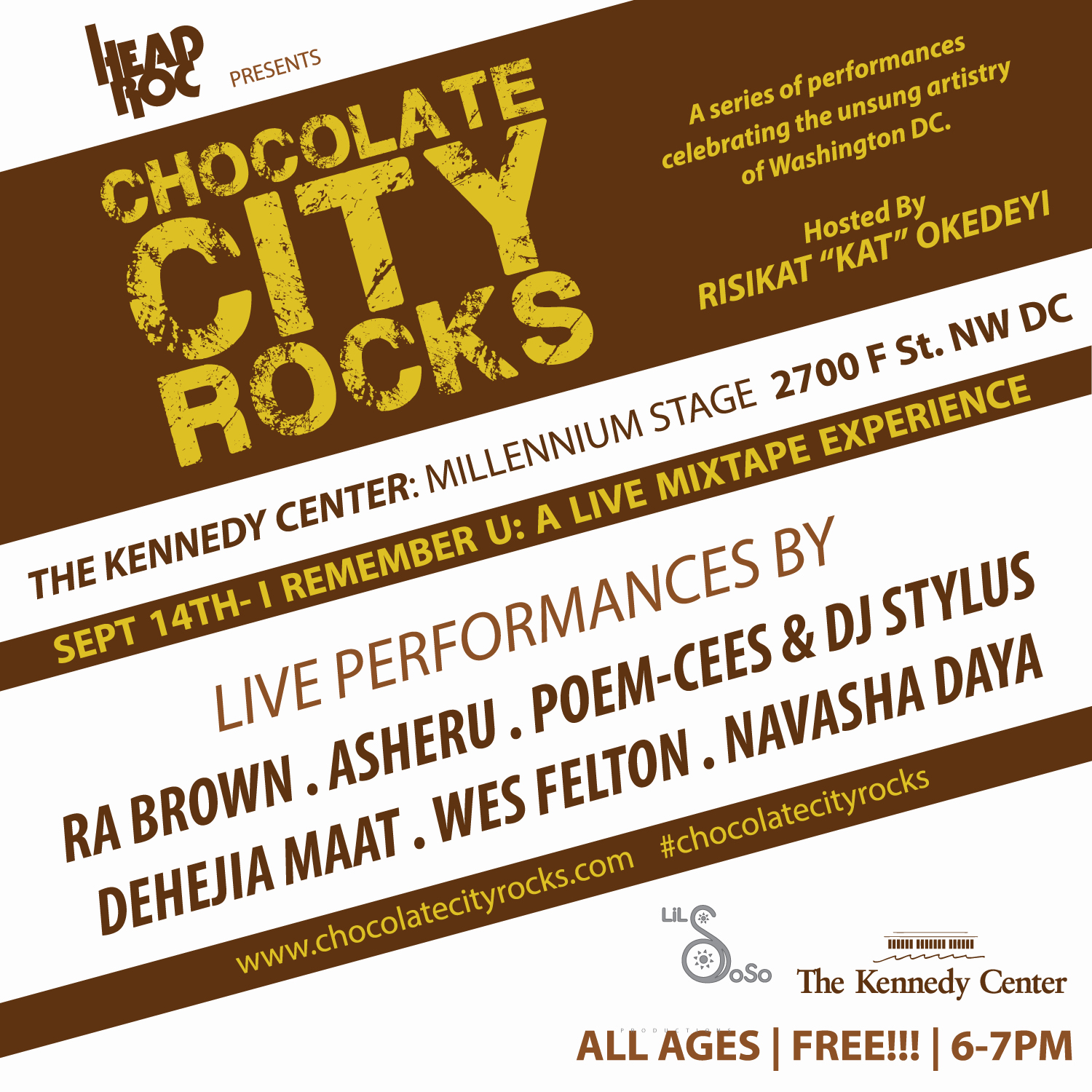Chocolate City Rocks: I Remember U