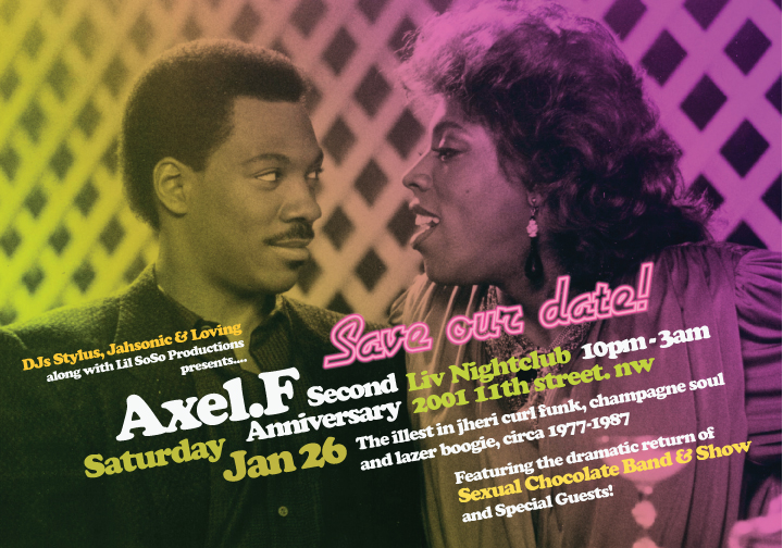 Axel F 2nd Anniversary, Jan. 26 2013
