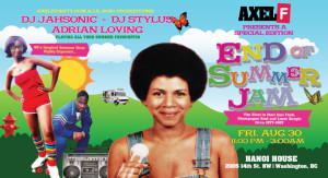 Axel F End of Summer House Party