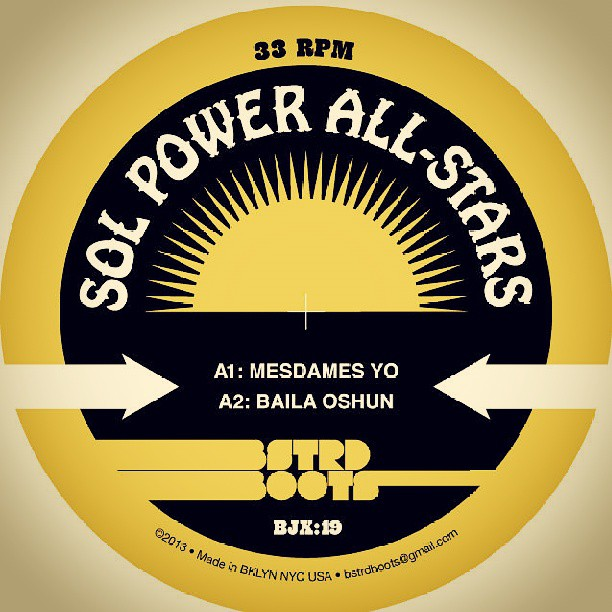 The Sol Power All-Stars on Bstrd Boots - BJX 019