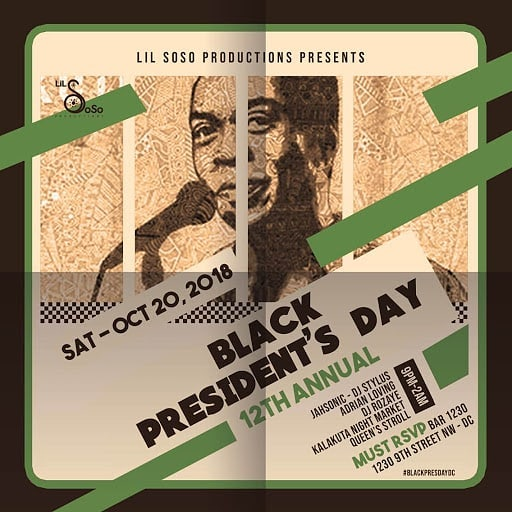 12th Annual Black President's Day: A Celebration of the Music of Fela Anikulapo Kuti