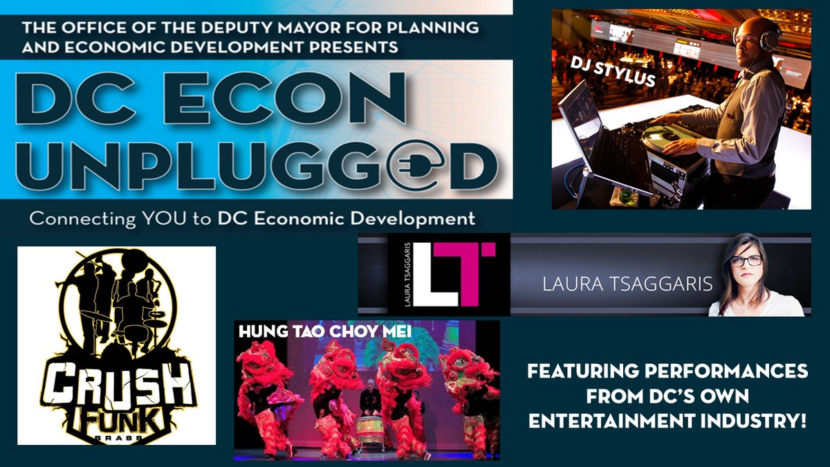 DC Econ UNPLUGGED, Thurs. 1/31
