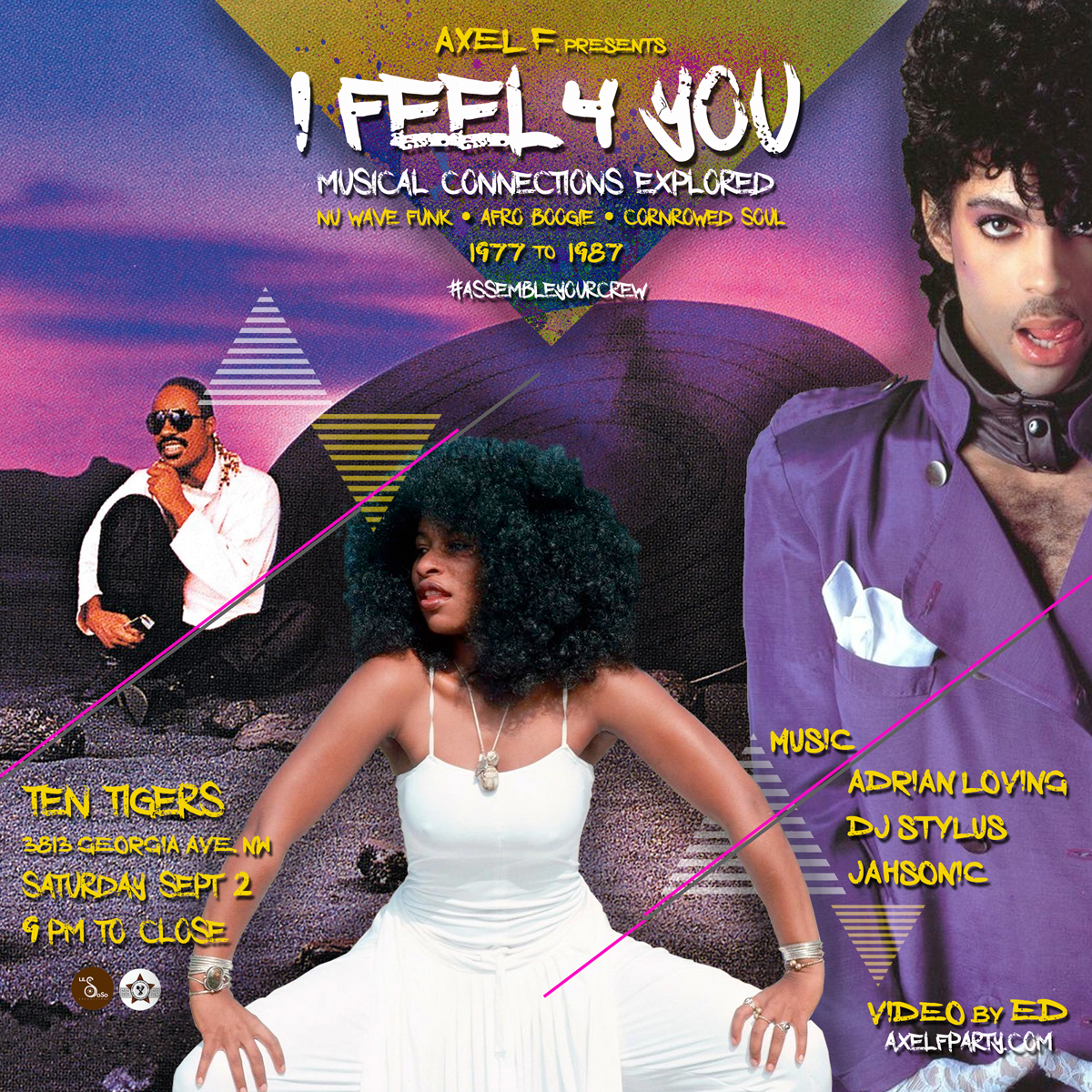 Axel F: I Feel For You, Sat. 9/2