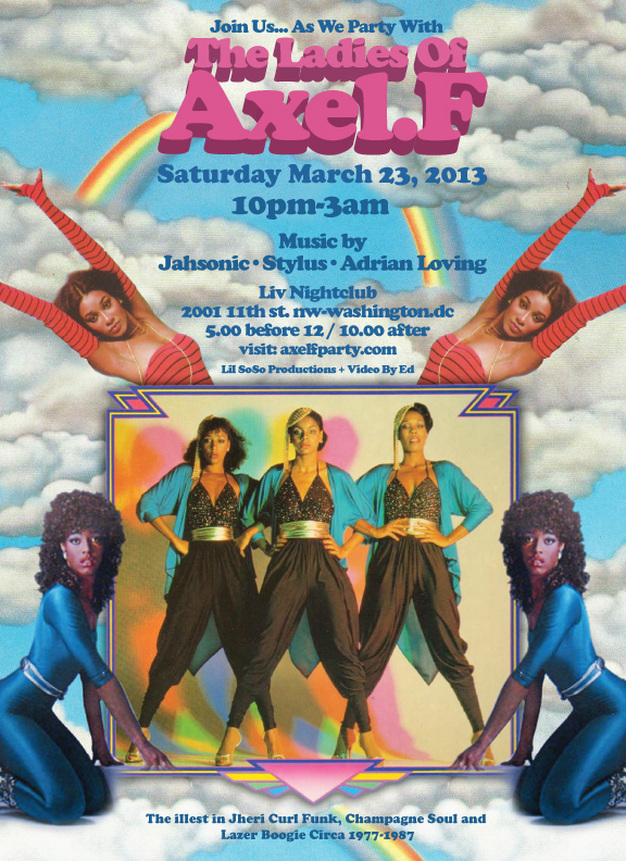 Ladies Of Axel F, Sat. March 23