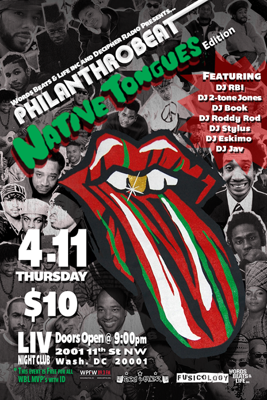 WBL Philanthrobeat: Native Tongues Edition