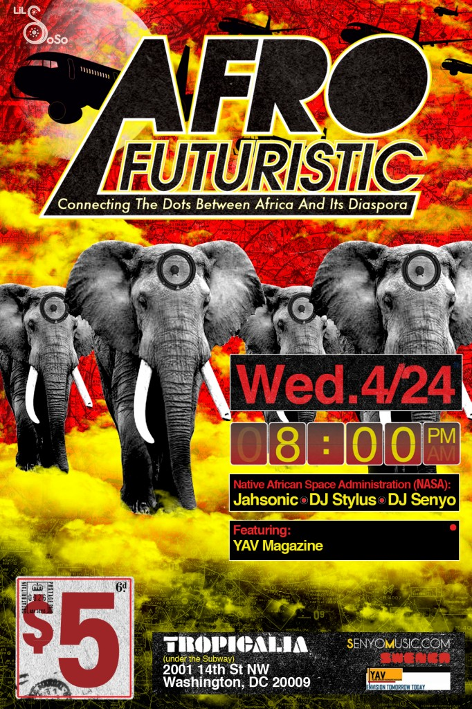 AfroFuturistic, Wed 4/24