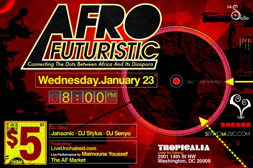 AfroFuturistic at Tropicalia, Wed. 1/24/13