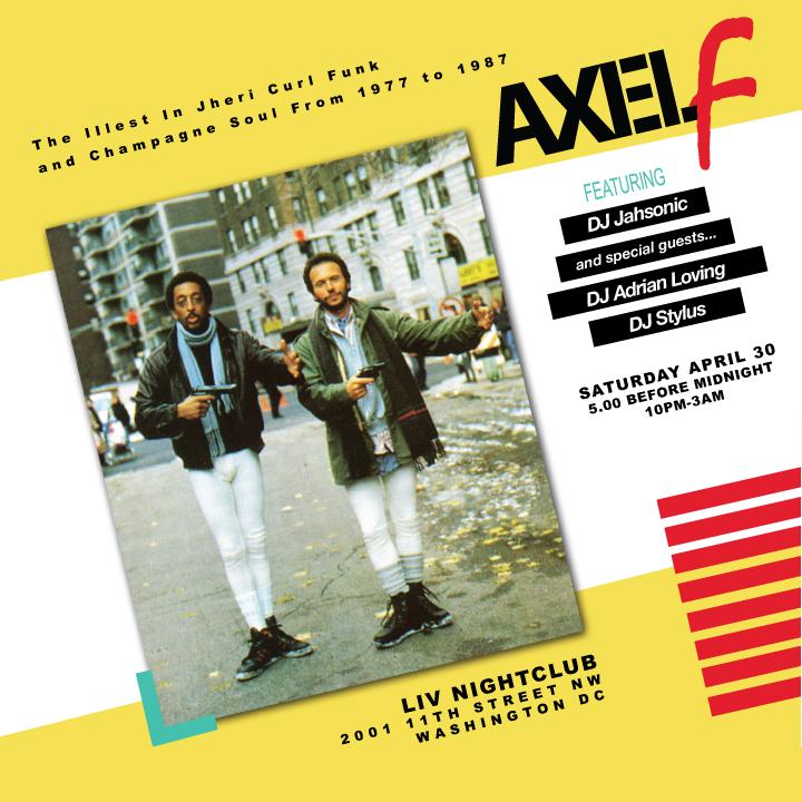 Axel F #4, April 30 2011