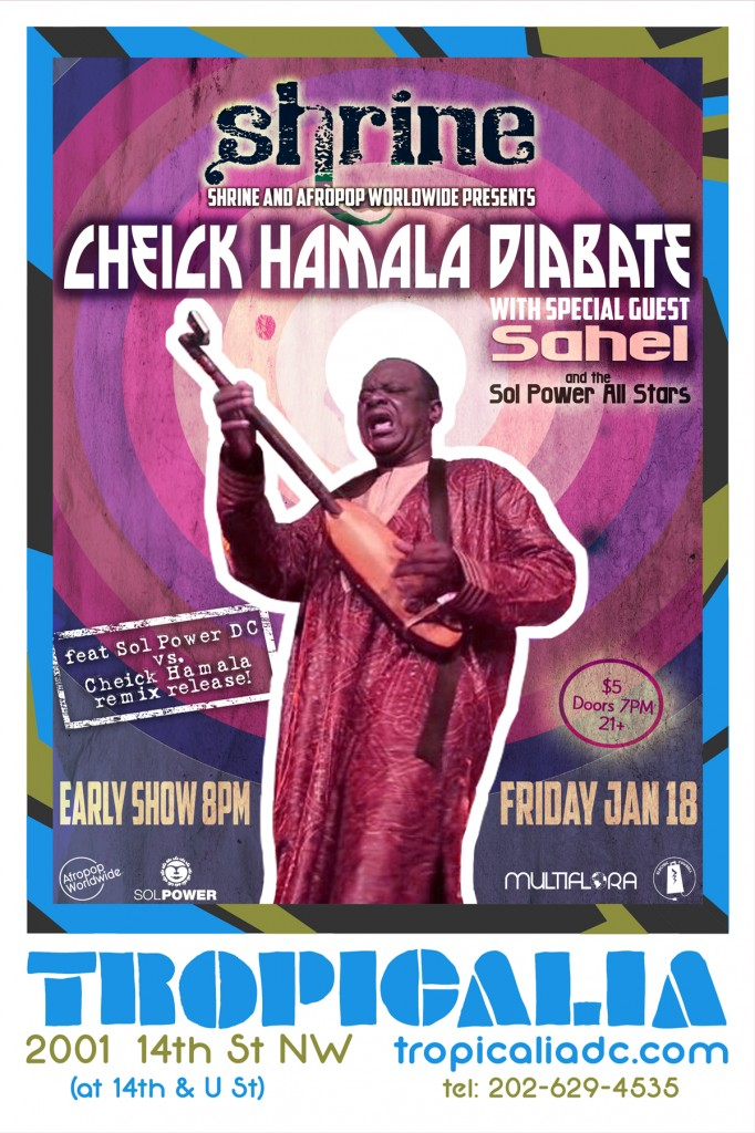 Cheick Hamala Diabate, Sahel & Sol Power at Tropicalia
