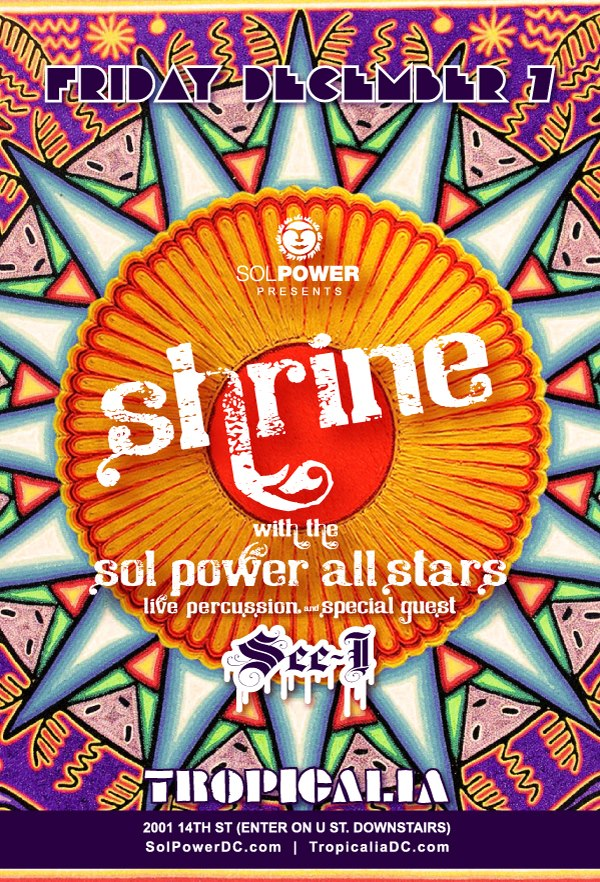 Shrine with The Sol Power All-Stars and See-I
