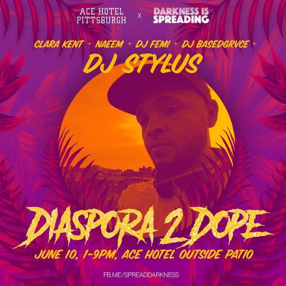 Darkness is Spreading presents DIASPORA 2 DOPE