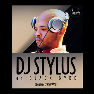 DJ Stylus at Blackbyrd Warehouse, DC