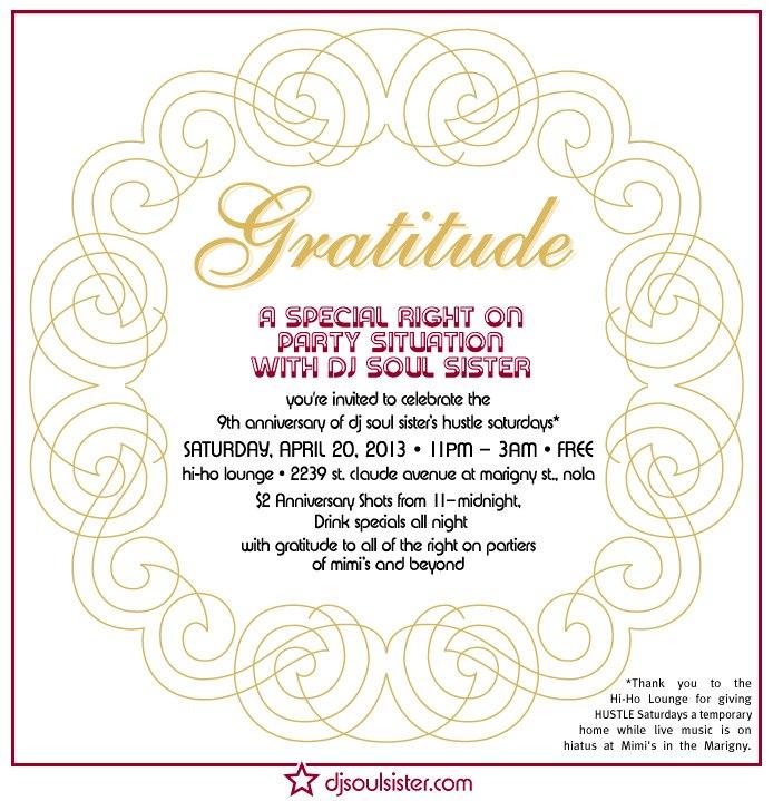 HUSTLE 9th annviversary with DJ Soul Sister
