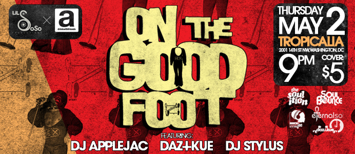 On The Good Foot: James Brown Tribute 5/2/13