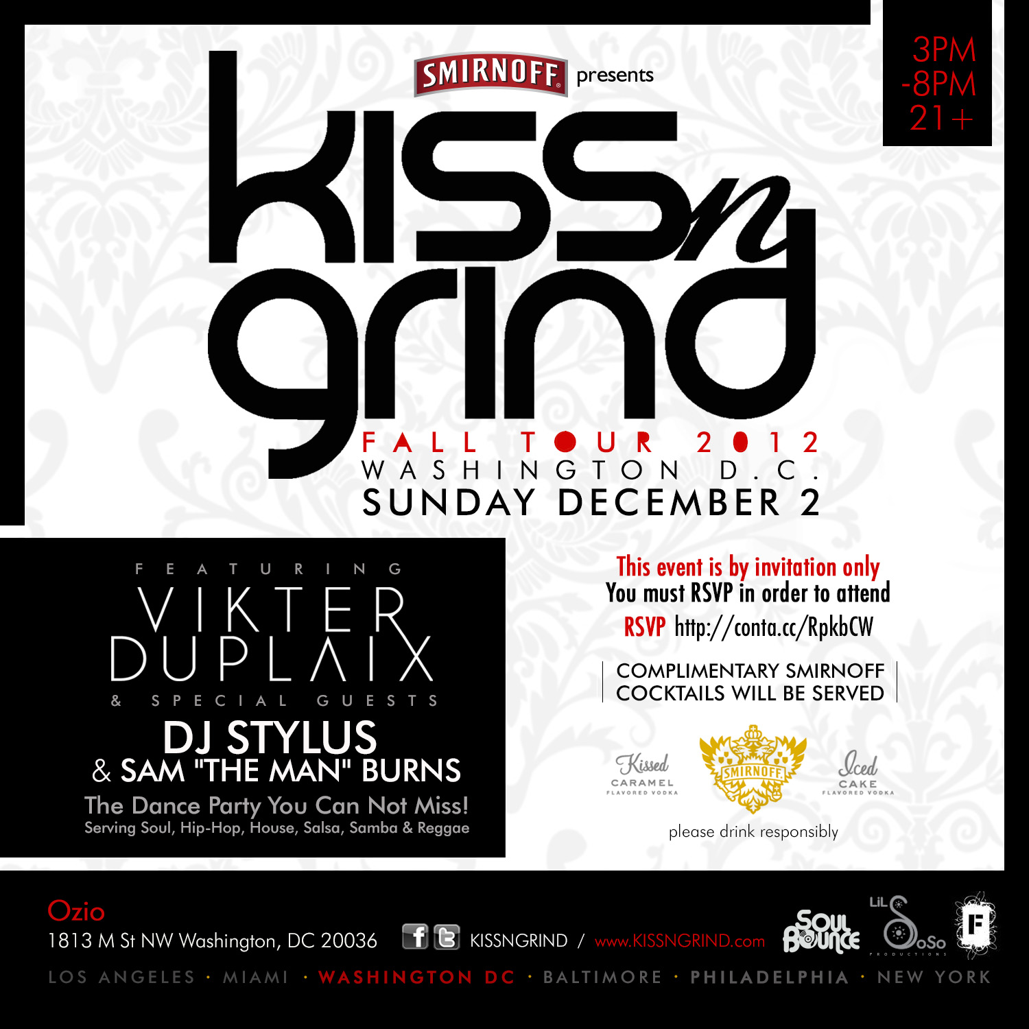 "Kiss-N-Grind DC feat. Vikter Duplaix, DJ Stylus & Sam ""The Man"" Burns"