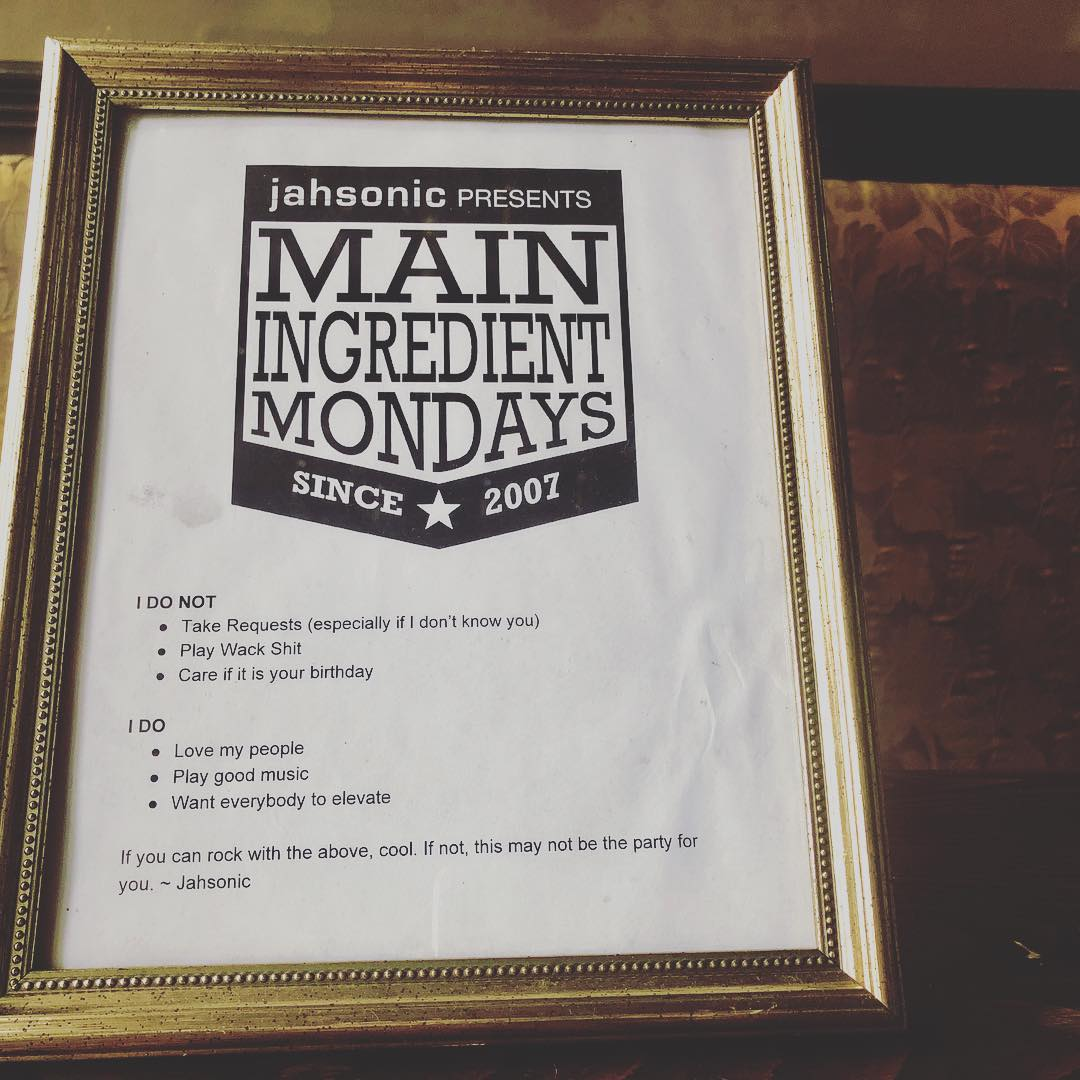 Main Ingredient Anniversary