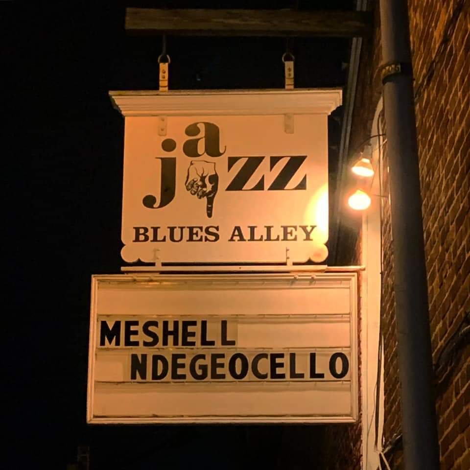 Meshell Ndegeocello at Blues Alley (January 2020)
