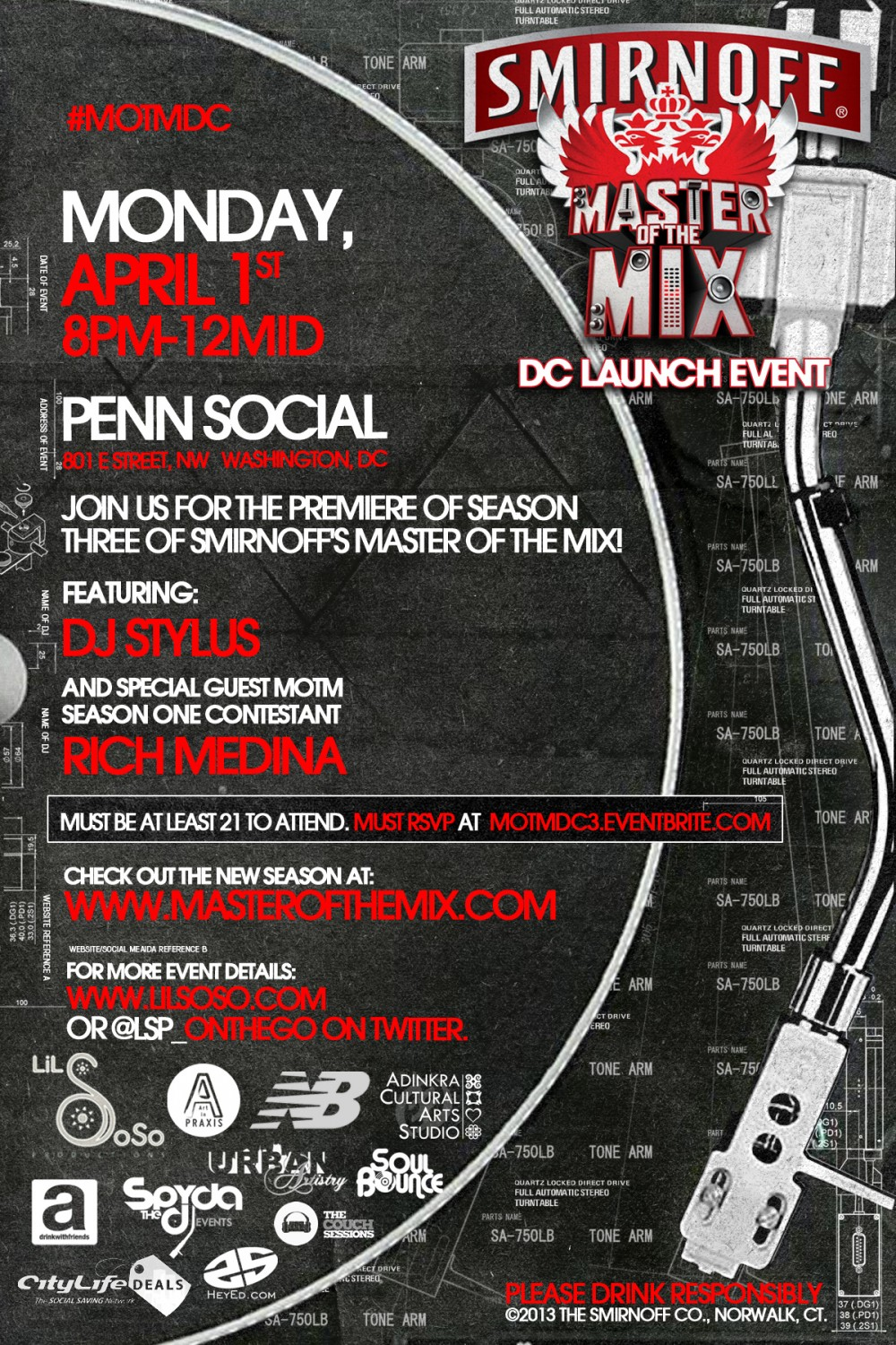 DC MoTM Season 3 launch w/ DJ Stylus & Rich Medina