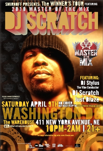 The Winner's Circle with DJ Scratch