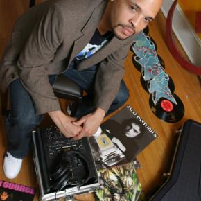 DJ Stylus (credit: Mignonette E. Dooley)