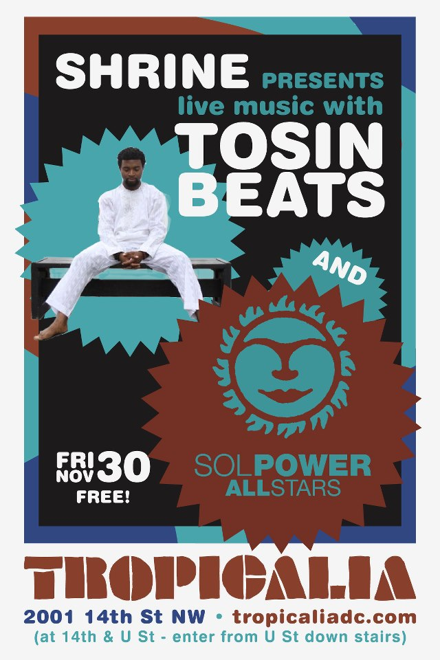 Shrine with Tosin Beats and The Sol Power All-Stars