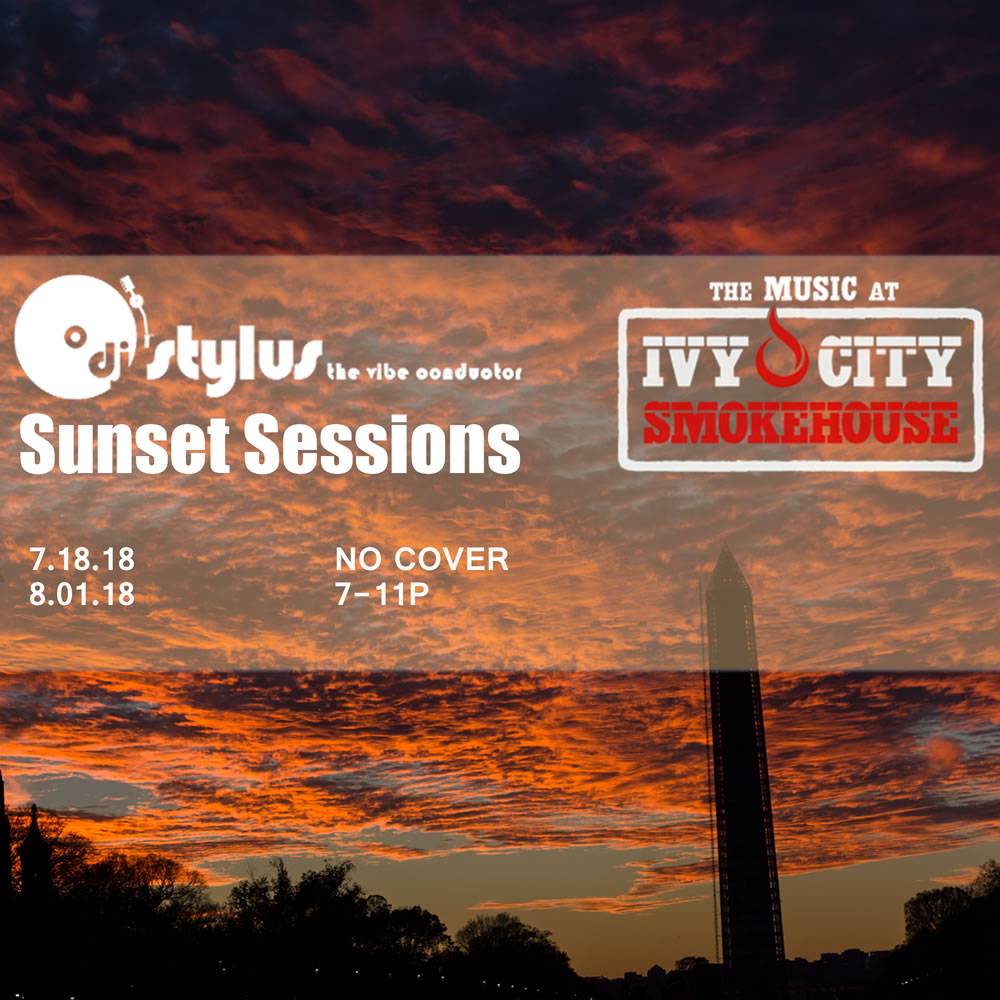 Sunset Sessions with The Vibe Conductor at Ivy City Smokehouse