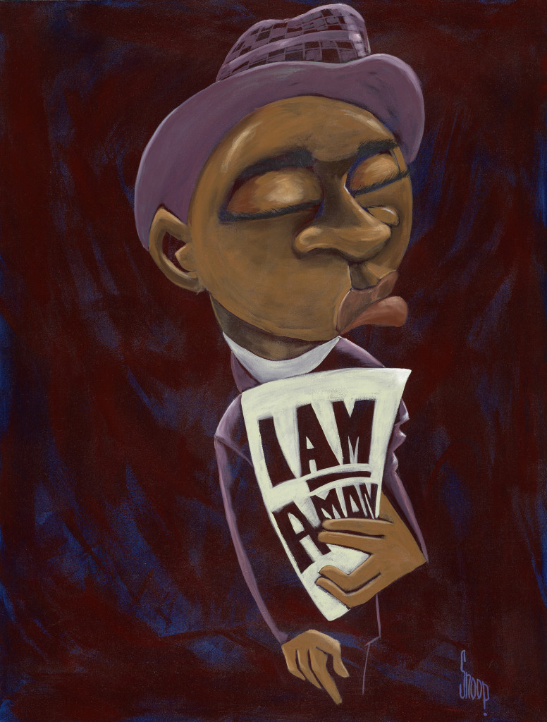The Listening Party vol. 2 - Courage (art: Dig Nitty (I Am A Man) - by Levi Robinson)