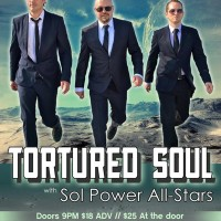 Tortured Soul and Sol Power All-Stars, Thurs. May 28