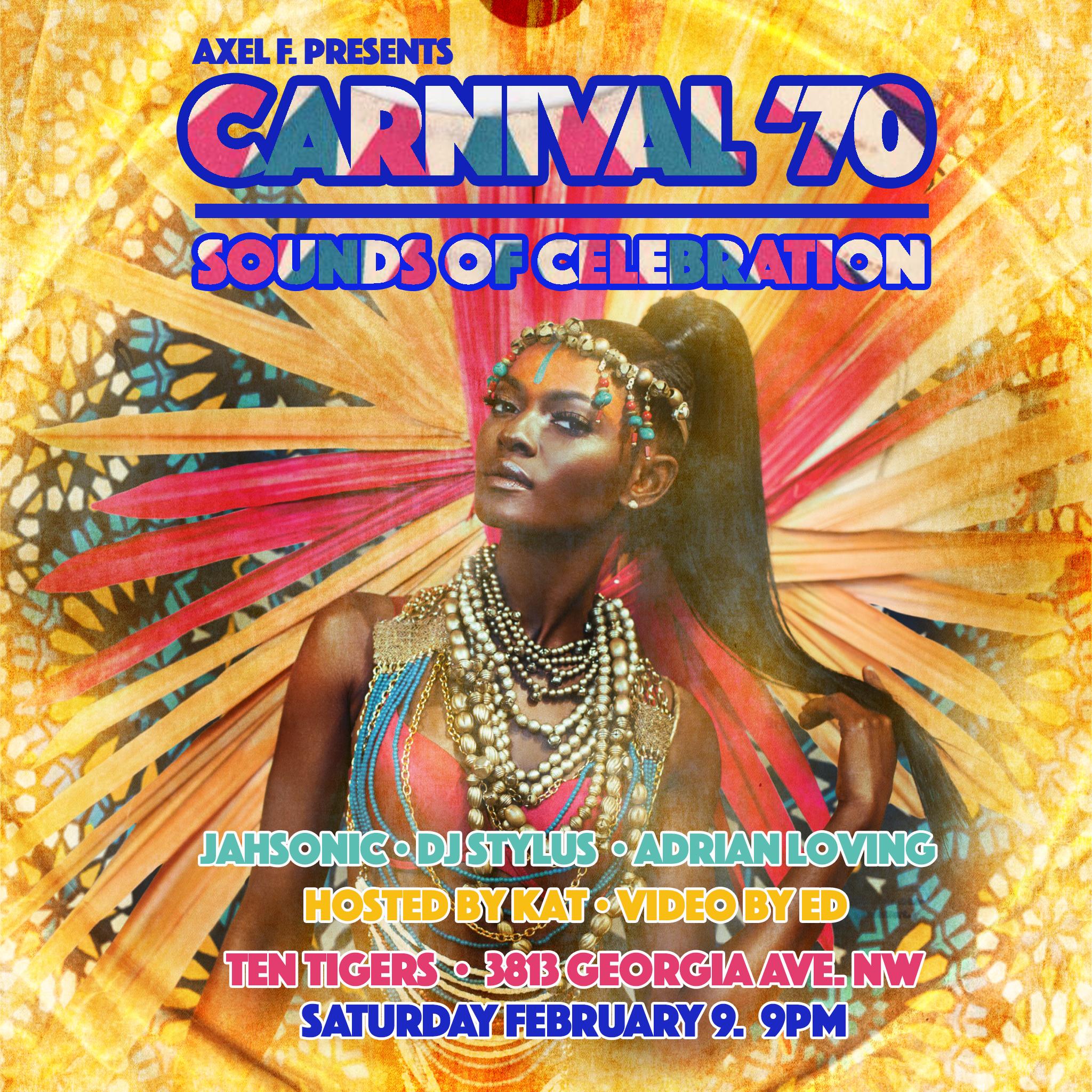 Axel F Carnival, Sat. 2/9