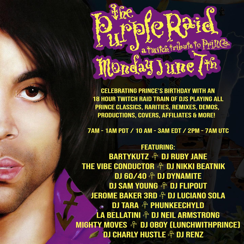 The Purple Raid - June 7, 2021