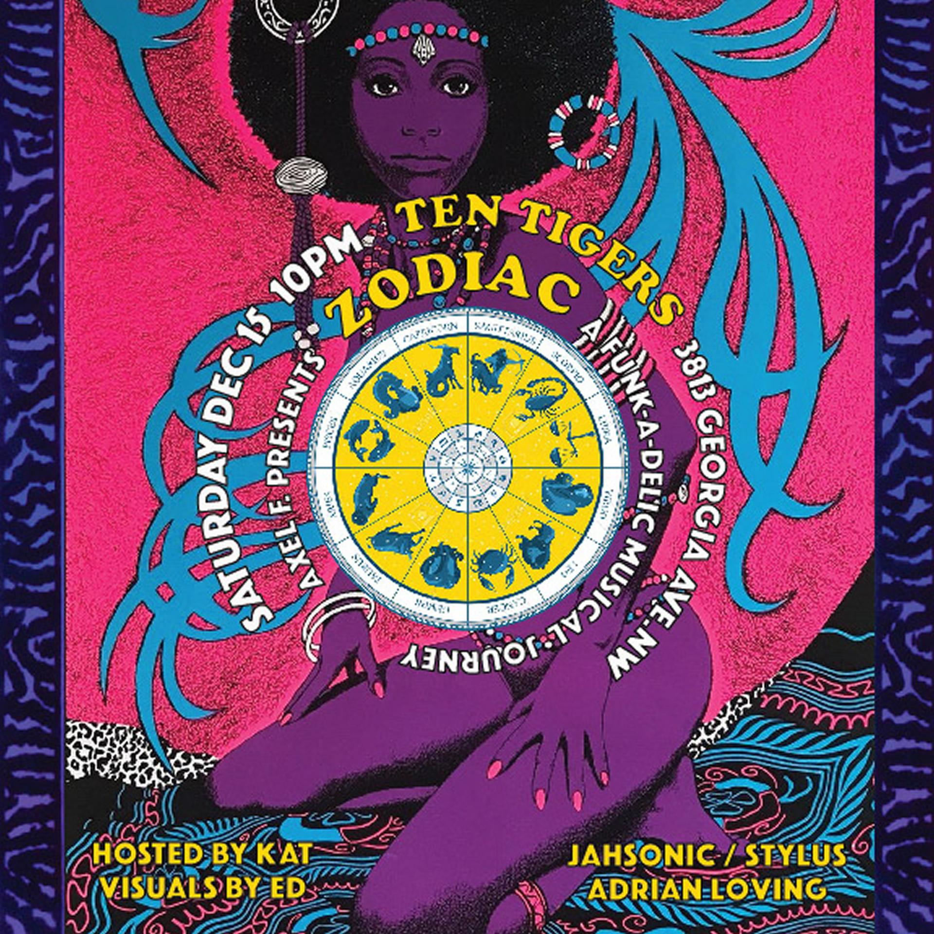 Axel F: Zodiac - A Funkadelic Journey, Sat. 12/15
