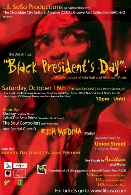 3rd Annual Black President's Day