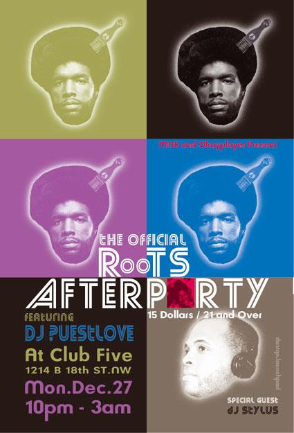 ?uestlove & DJ Stylus at Club Five, DC