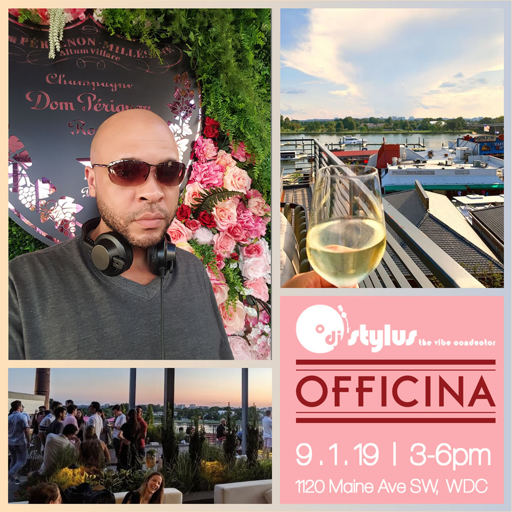The Vibe Conductor at Officina DC, Sun. 9/1, 3-6pm