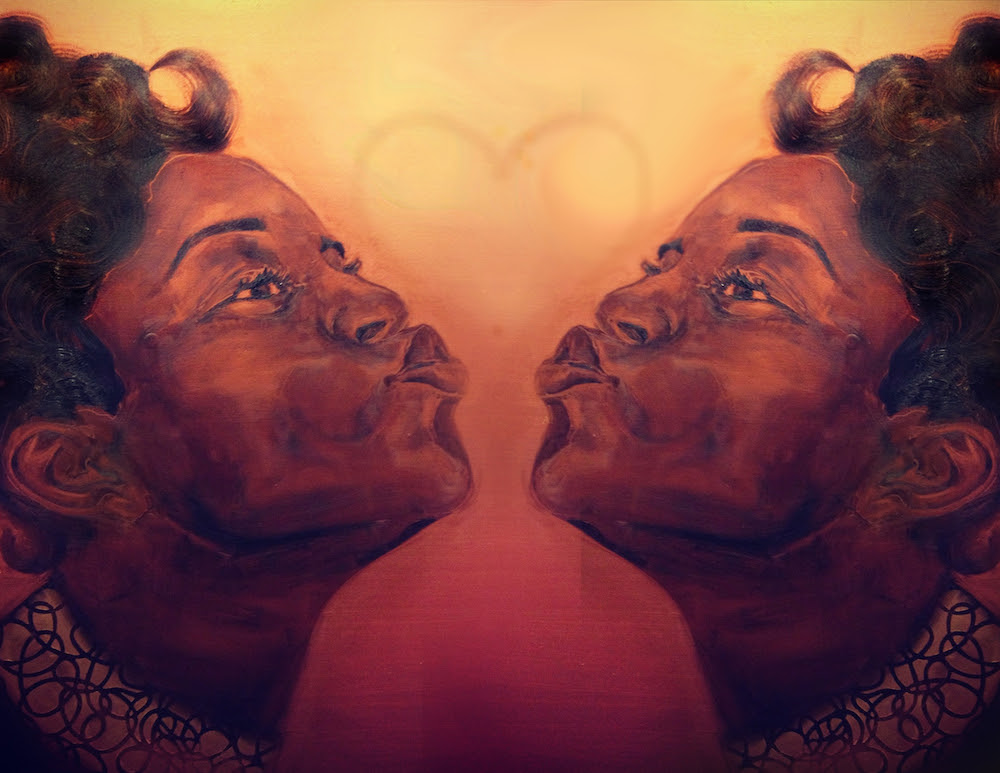 The Listening Party vol. 4 - Love (art: Copper Kisses - by J'Nell Jordan)